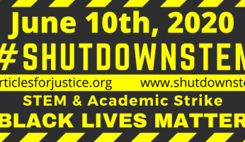 Tiny Earth to #ShutDownSTEM June 10, 2020